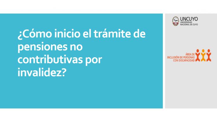 imagen que ilustra noticia Lenguaje claro: Pensiones no contributivas por invalidez